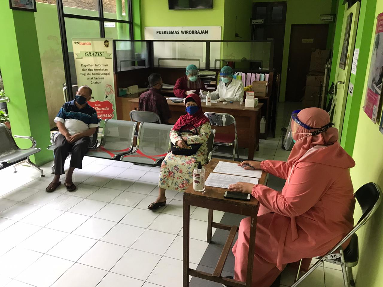 Pelaksanaan Skrening Lansia di Puskesmas Wirobrajan Yogyakarta Oktober - November 2020